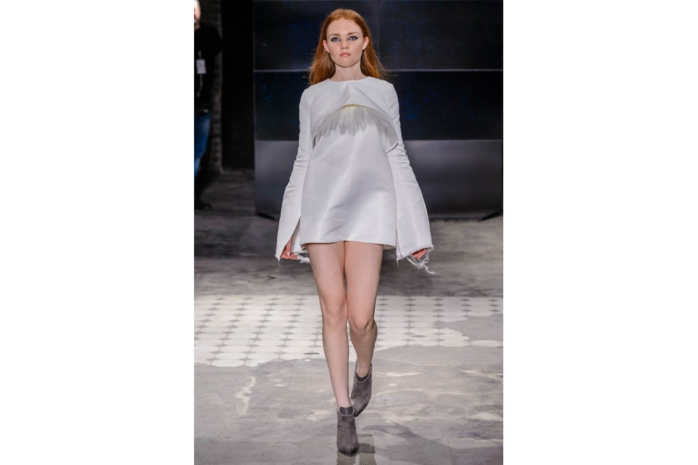 Robe blanche - Forme A